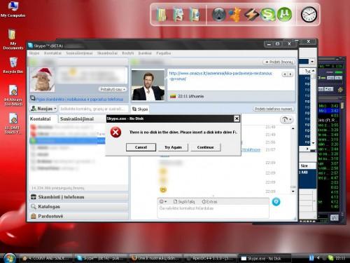 Skype nuo šiol reikia disko