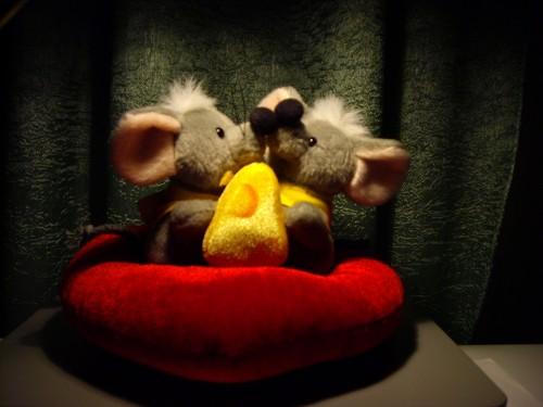 Du peliukai Šv. Valentino dieną
