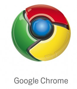 Google Chrome logotipas