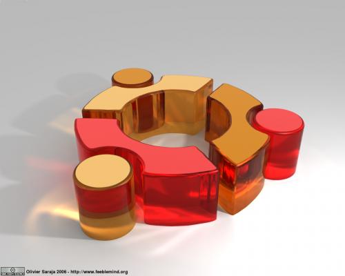 Ubuntu logotipas