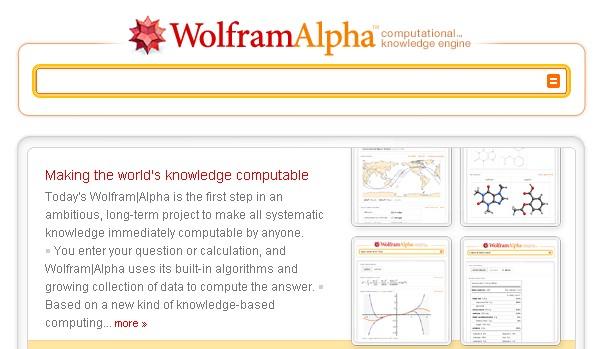 wolframalpha paieškos sistema