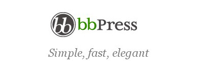 bbPress logotipas