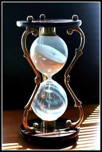 Laiko planavimas, Smėlio laikrodis